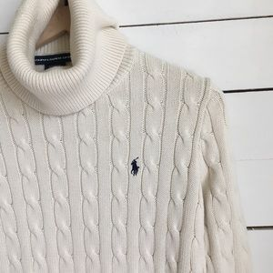 Ralph Lauren Sport Turtleneck Sweater SzM